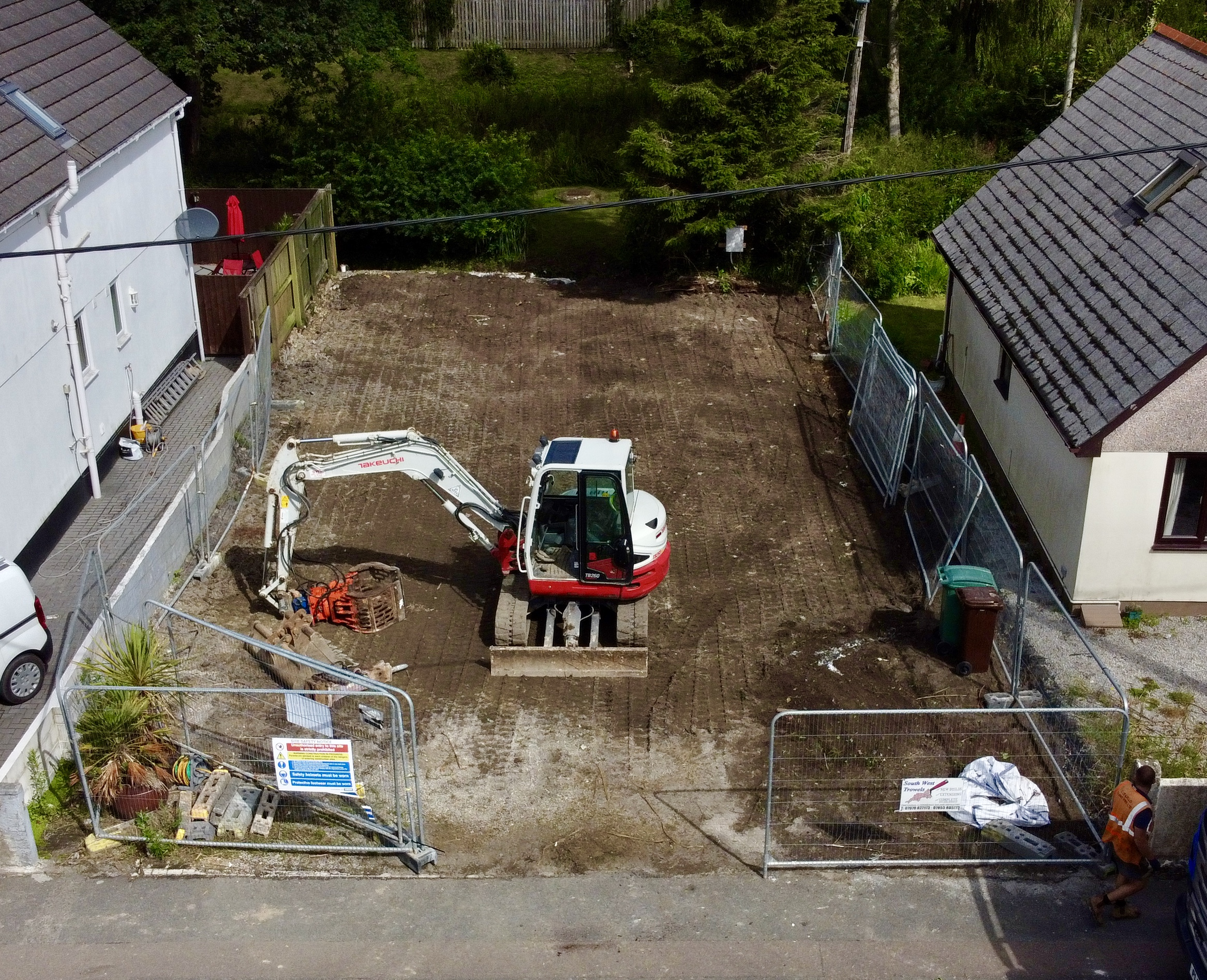Hayle Demolition Completed