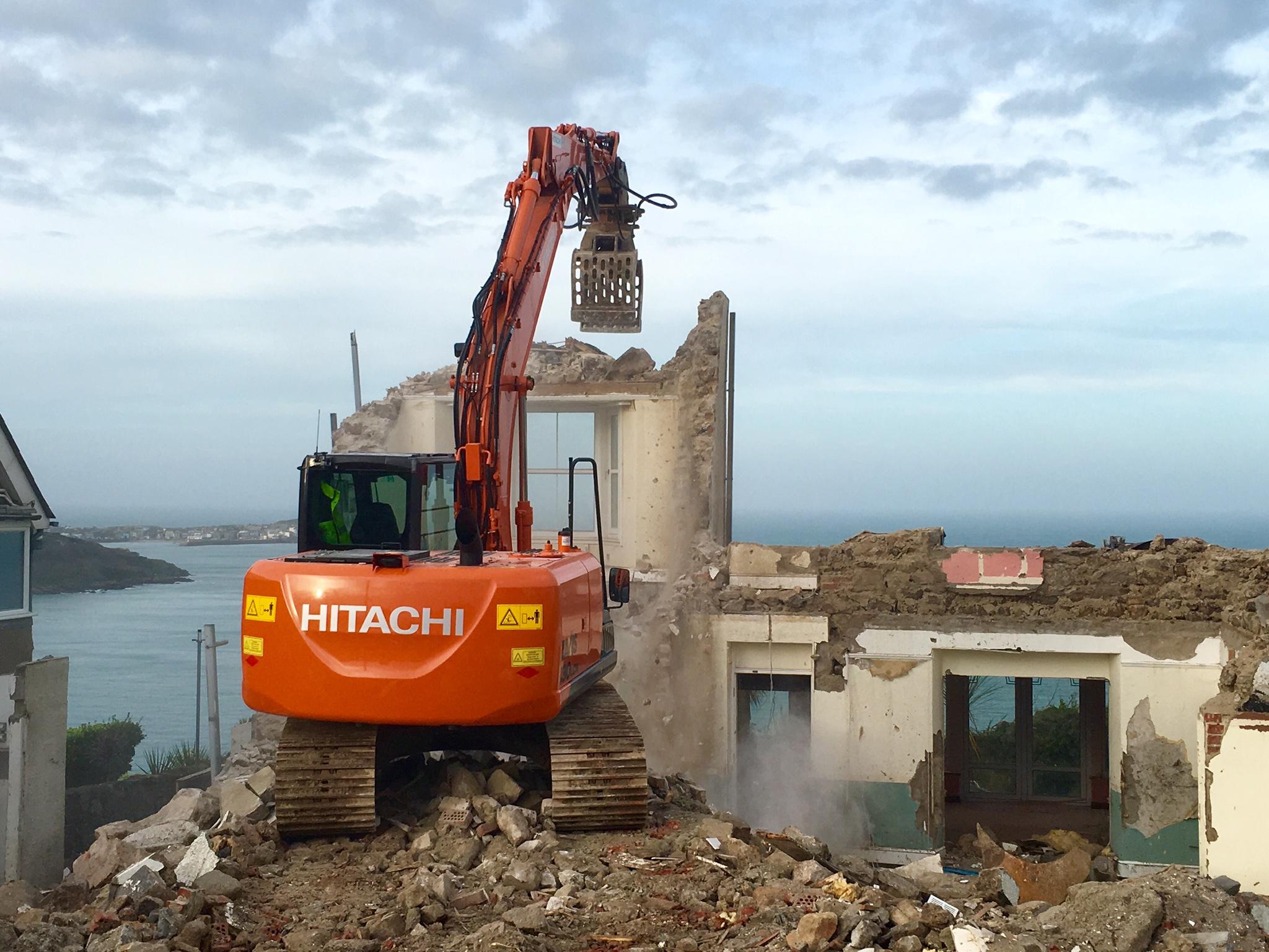 Carbis Bay Demolition
