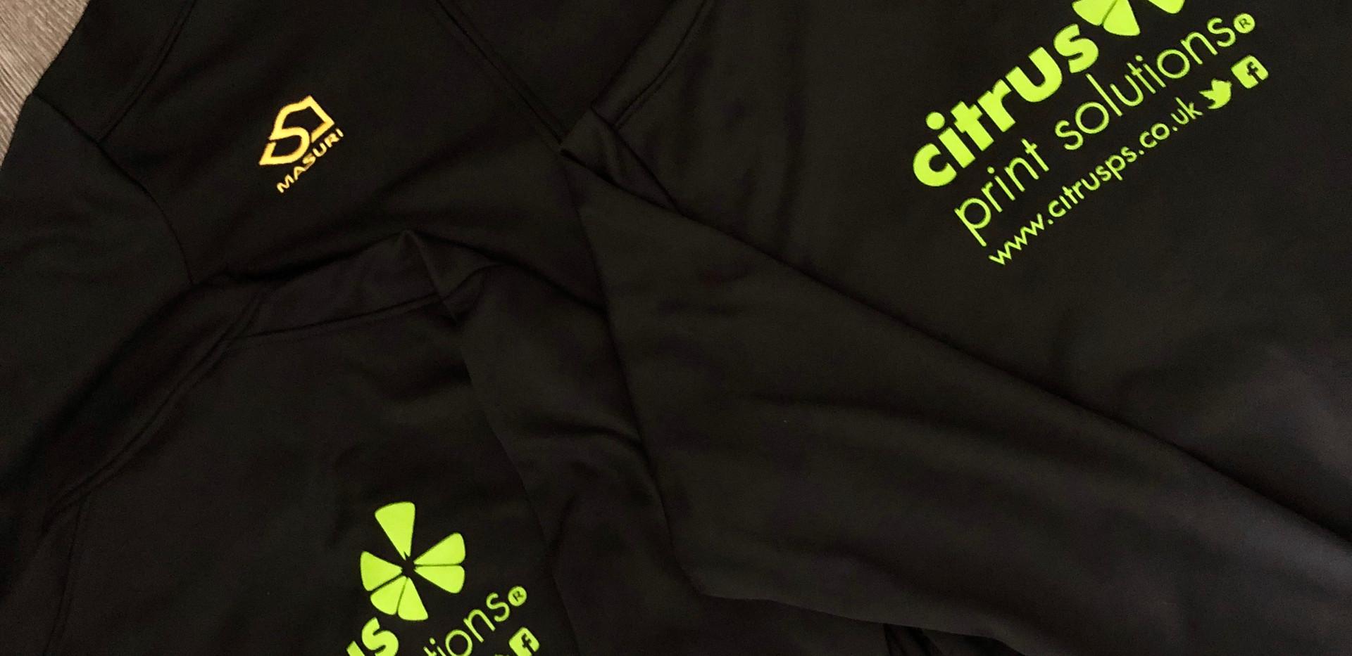 Club Zip ups from Citrus