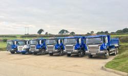 The Fleet of 6w & 8w