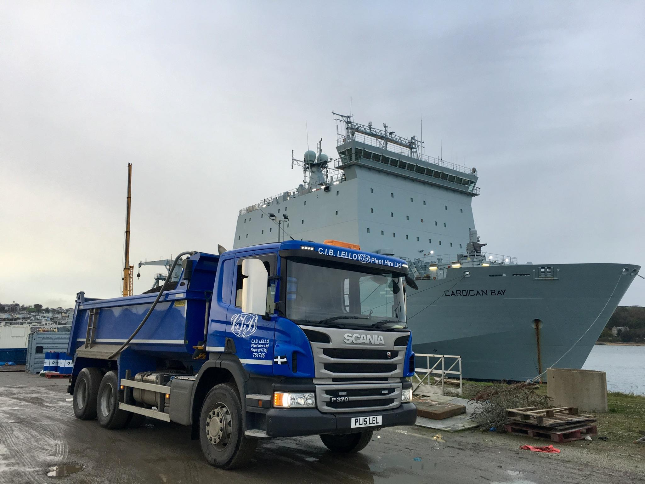 PL15 Falmouth Docks