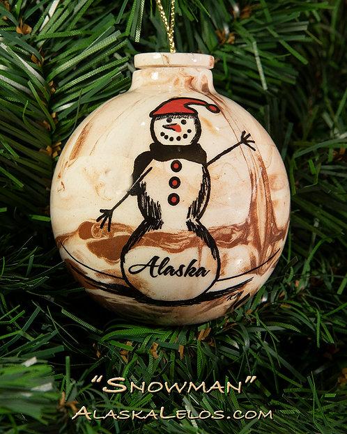 Snowman (Alaska Clay)