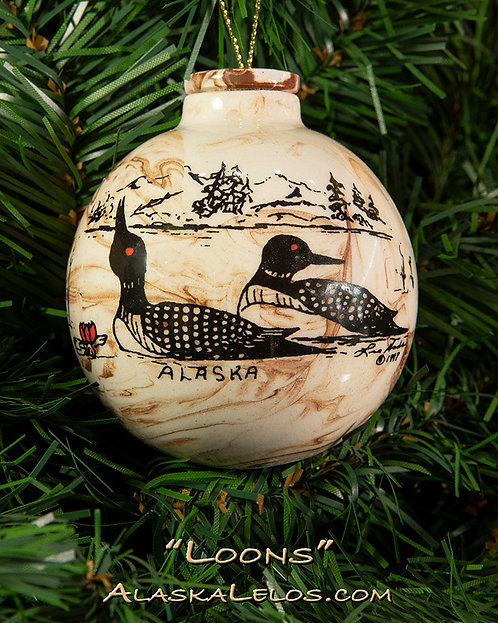 Loons (Alaska Clay)