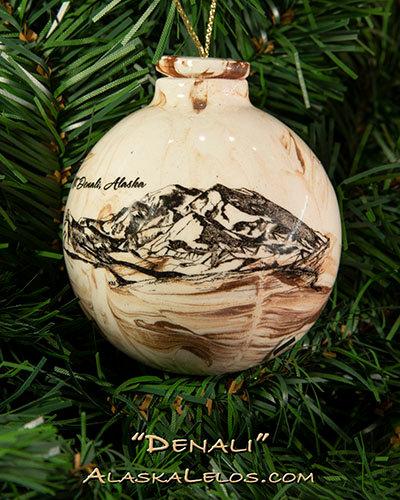 Mt. Denali (Alaska Native Clay)