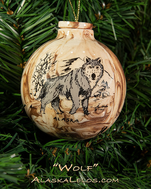 Wolf (Alaska Clay)