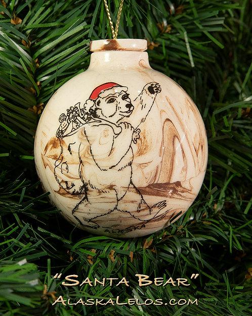 Santa Bear (Alaska Clay)