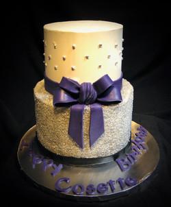Cosette's Sweet 16 Birthday Cake