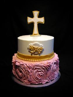 Ainsley's Baptism Cake