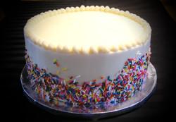 Amanda's Sprinkle Birthday Cake