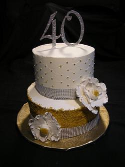 Katty's 40th Birthday Cake