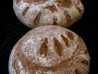 5 grain Bread* - Yields: 3 (medium) loaves