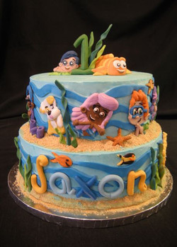 Bubble Guppies Themed Cake