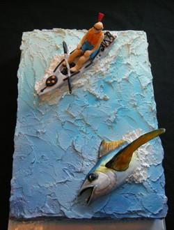 Kayak Fishing Cake