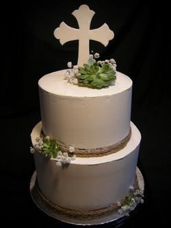 Noah's Baptism Cake