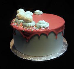 Michael & Codi's Baby Reveal Cake