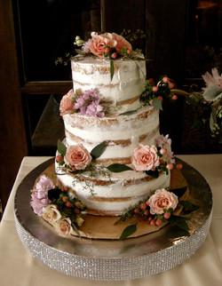 Melissa's Naked Wedding Shower Cake