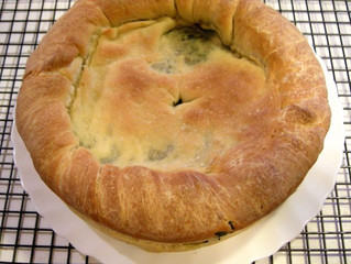 Sicilian Spinach Pie