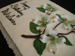 Dogwood Birthday Cake