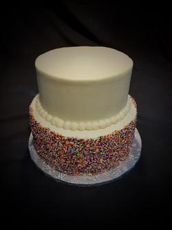 Angie's Sprinkle Birthday Cake