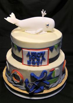 Monica Brown's Baby Shower Cake