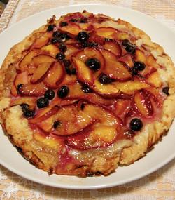 Summer Peach Berry Crustada