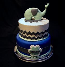Noah's Baby Shower Cake