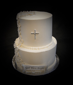 Angie's Confirmation Cake