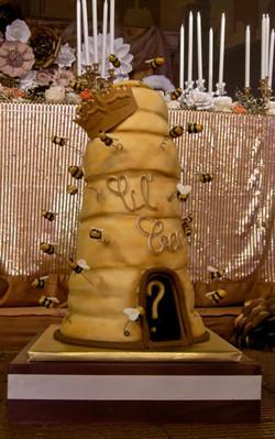 Lil Kim's Honey Bee Shower Cake