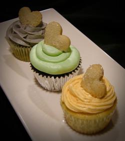 Lane & Evi's Baby Shower Cupcakes