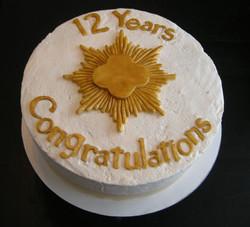 Girl Scout 12 Year Celebration Cake