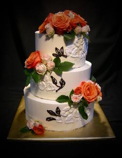 Erika and Michael's Wedding Cake