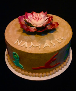Dawn's Yoga Cake