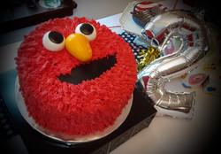 Zelal's Elmo Birthday Cake