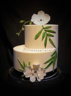 Tropical Wedding Shower Cake