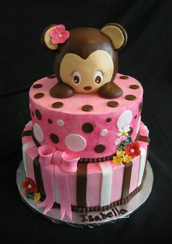 Monkey Themed Cake