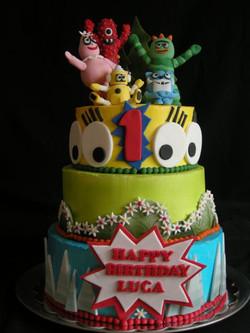 Gaba Gabe Birthday Cake