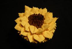 Sunflower Cupcake_Detail