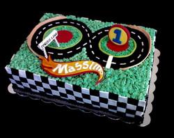 HotWheels Themed Birthday Cake