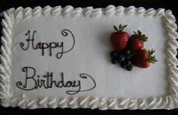 Tres Leche Birthday Cake