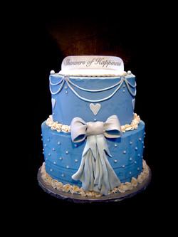 Cinderella Wedding Shower Cake