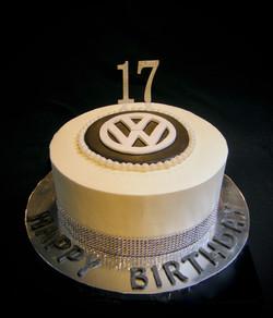 Savannah's VW Birthday Cake