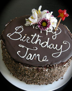 Jane's Birthday Cake