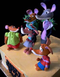 Geronimo Stilton Theme Cake