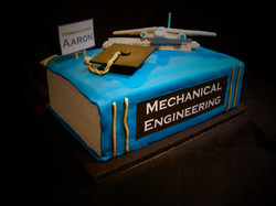 """Aaron""""s Book Cake Engineering"""