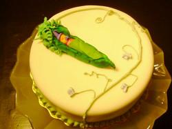 Sweet Pee Baby Shower Cake