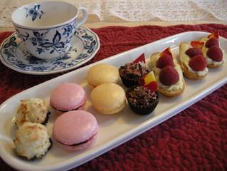 Rosa's Bridal Tea Party Desserts