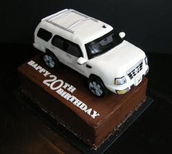 Escalade Cake