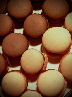 Hazelnut & Mango Macaroons
