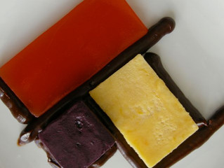 Ian's Challenge - August's Dessert - Red Yellow Blue