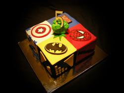 Andrew's Super Hero Themed Cake